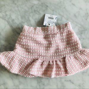 NWT Janie and Jack pink skirt 3-6 months tweet